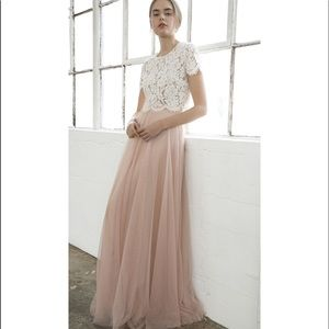 Jenny Yoo Collection Winslow Long Tulle Skirt